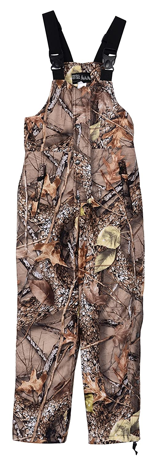 Big Boys Youth Waterproof Breathable Insualted Camo Bib Overall