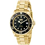 Invicta Pro Diver Unisex Automatic Watch with Analogue Display on Plated Stainless Steel Bracelet
