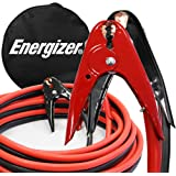 Energizer 2-Gauge 800A Jumper Battery Cables 16 Ft Booster Jump Start ENB-216