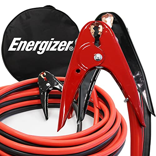 best heavy duty jumper cables, Energizer 1-Gauge 800A Heavy Duty Jumper Battery Cables