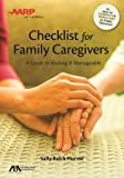 ABA/AARP Checklist for Family Caregivers: A Guide to Making it Manageable