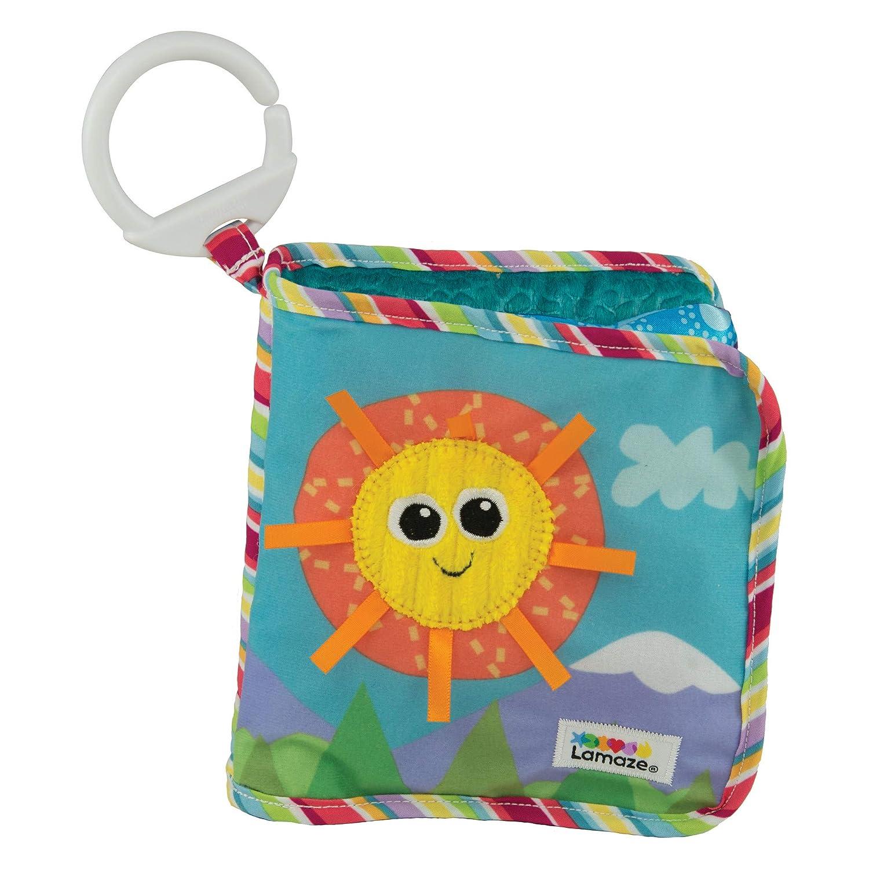 Lamaze Baby Spielzeug Entdeckungsbuch Clip & Go - hochwertiges Kleinkindspielzeug - Baby Buch Anhänger zur Stärkung der Eltern-Kind-Beziehung - ab 0 Monate RC2 (Learning Curve) L27126 B002WN2AKG Sonstiges erstes Spielzeug