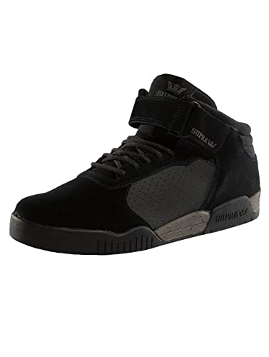 a8c395cb0fc0 Supra Men Shoes Sneakers Ellington Strap Black 42.5