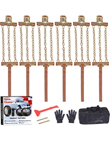 1.9//115-120mm 1.9 inches//105-110mm//1.9 inches //115-120mm Tractor Chains Compatible with TRX-4 /& SCX10 Dilwe Tire Chains