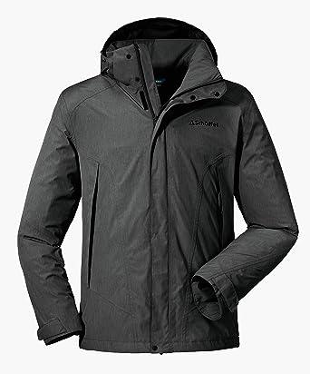 new style ed036 7b89e Schöffel Jacket Easy M3 Herren Outdoor Jacke, wasser- und winddichte  Allwetterjacke für Männer, leichte und atmungsaktive Herren Regenjacke