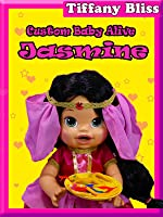 Baby Alive Custom Princess Jasmine Eats Play-doh Poops out Surprise Blind Bag Toys