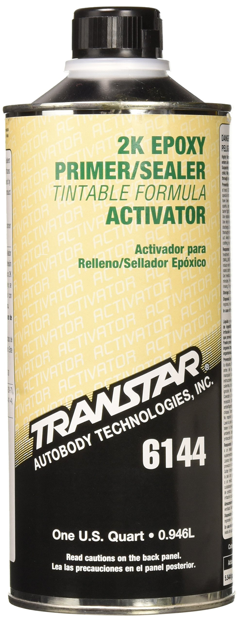 TRANSTAR 6144 Epoxy Primer Activator - 1 Quart by TRANSTAR