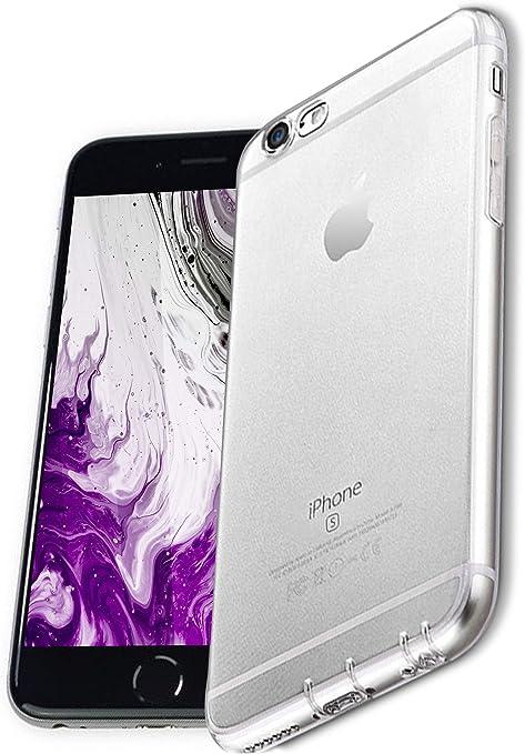 COVERbasics Cover compatibile con iPhone 6 / 6s (PROCAM 0.33mm) Custodia Trasparente in Silicone Anti Ingiallimento ed Anti Graffio con Protezione ...