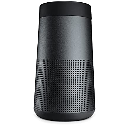 bose bluetooth speakers amazon wireless speaker bose soundlink revolve portable bluetooth 360 speaker triple black 7395231110 amazoncom speaker