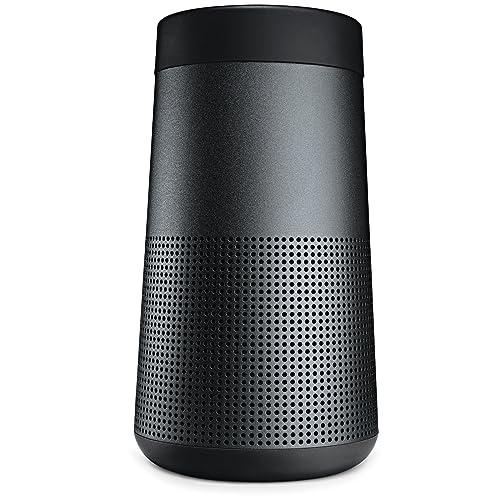 Bose SoundLink Revolve Portable Bluetooth 360 Speaker, Triple Black (739523-1110)