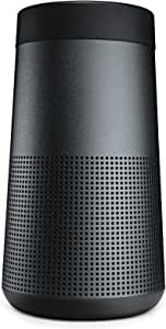 Bose SoundLink Revolve, Portable Bluetooth Speaker, water-resistant design with Spacious 360° Sound - Triple Black