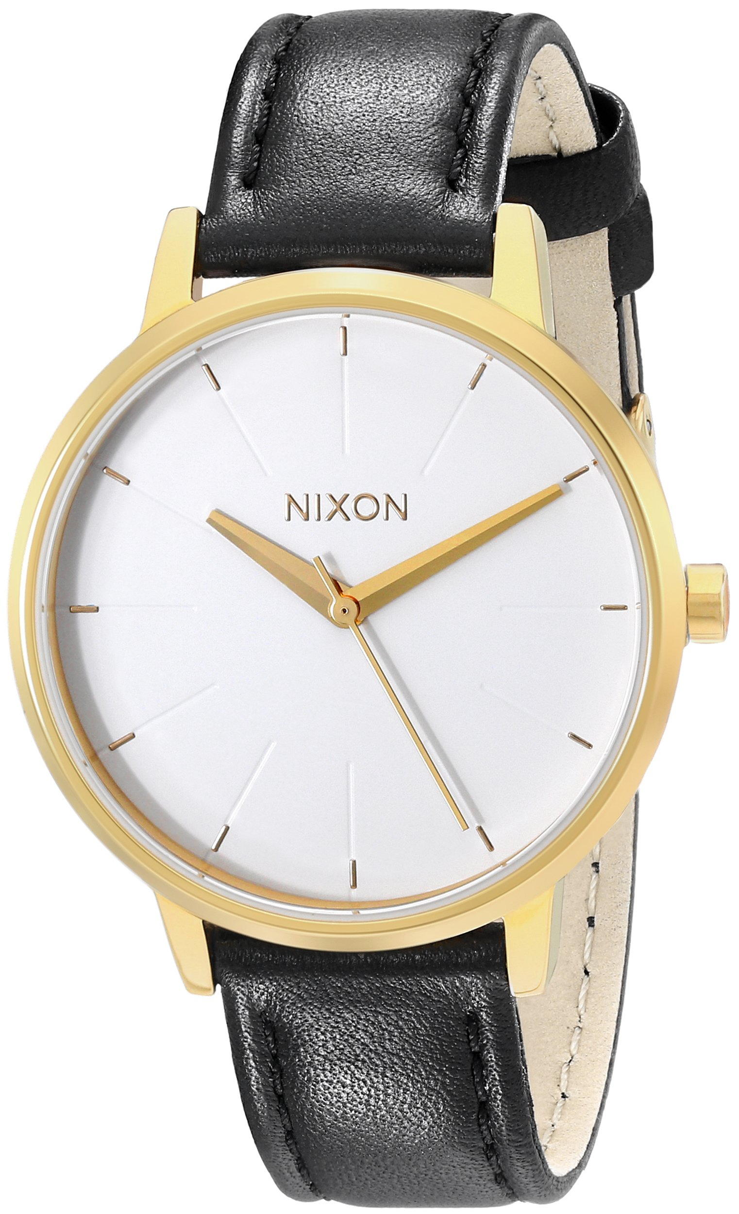 Nixon Women's A1081964 Kensington Leather Watch by NIXON