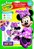 Crayola Mini Kids - 81-1372-E-000 - Album coloriage et autocollants - Minnie