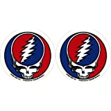 "Grateful Dead - PAIR OF 2 1/2"" STEAL YOUR FACE - Sticker / Decal"