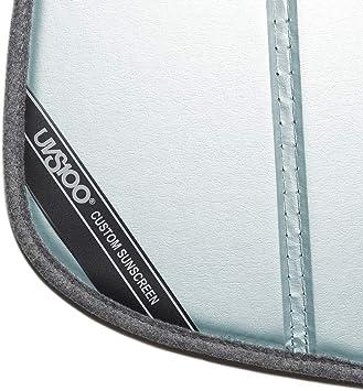 Laminate Material 1 Pack Covercraft UV11193BL Blue Metallic UVS 100 Custom Fit Sunscreen for Select Jeep Patriot Models