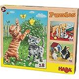 Puzzles & Geduldspiele Puzzles HABA-Puzzles Tiere Spiel Deutsch 2012