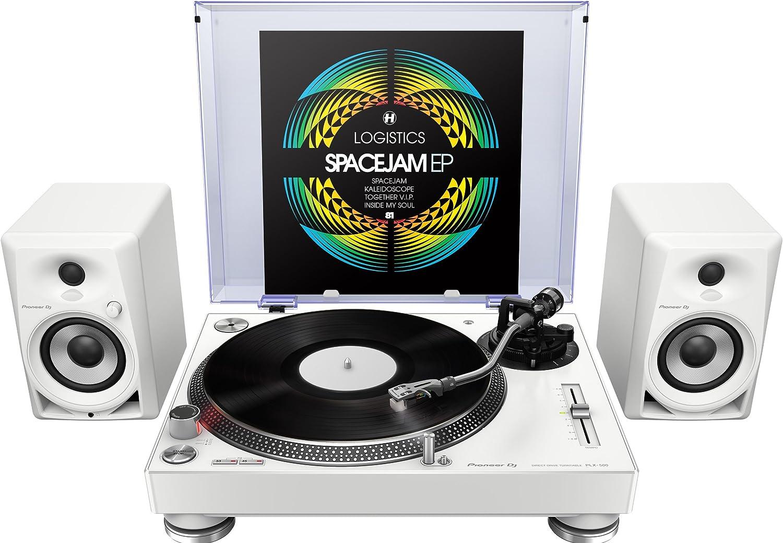 Pioneer DM-40 Negro altavoz Corriente alterna, 110-240 V, 50-60 Hz, Mesa//estante, DJ, Integrado Altavoces