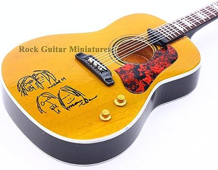 RGM95 John Lennon acústica guitarra en miniatura The Beatles John ...