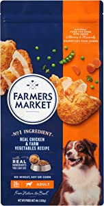 Farmers Market Pet Food Premium Natural Dry Dog Food