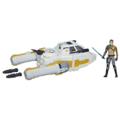 Star Wars Rebels 3.75-inch Vehicle Y-Wing Scout Bomber: Toys & Games