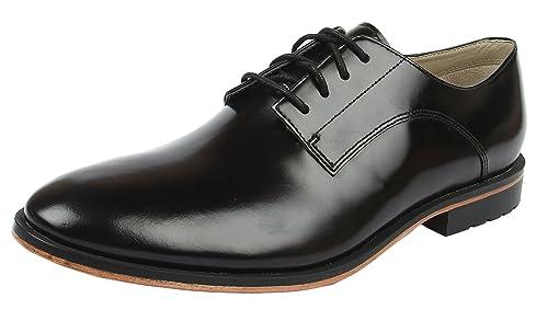d720615326c1b Clarks Gatley Walk, Mens Brogue, Black (Black Leather), 8.5 UK (