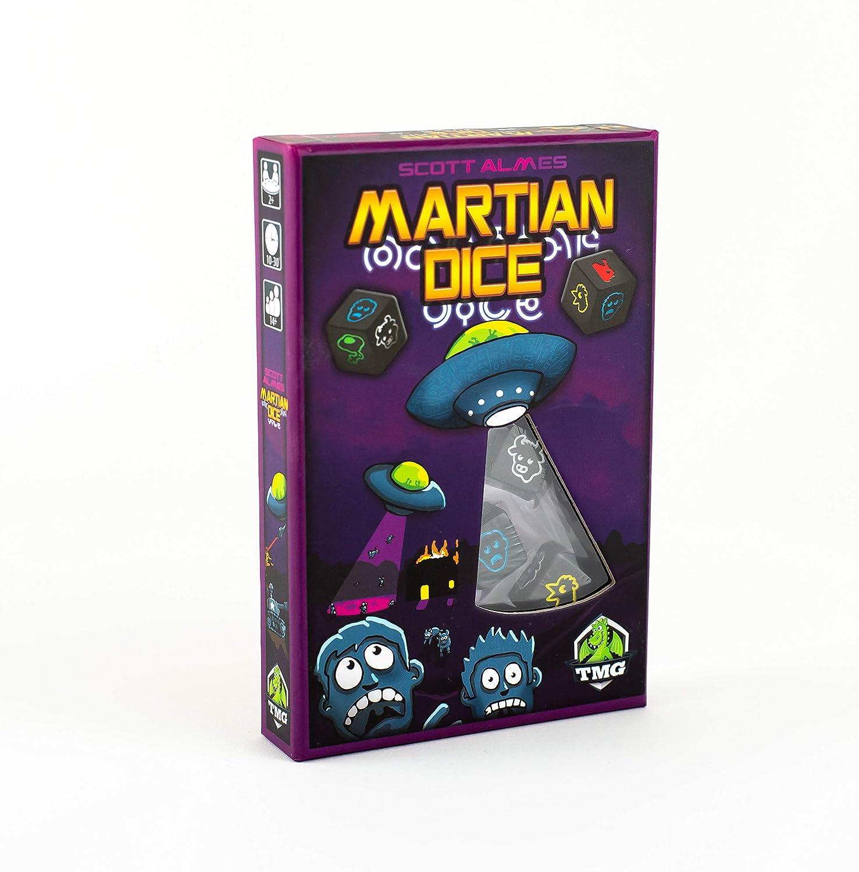 Tasty Minstrel Games Martian Dice: Amazon.es: Juguetes y juegos