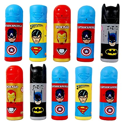 Buy Perpetual Bliss (Pack of 12) Super Hero Theme Pencil Box with