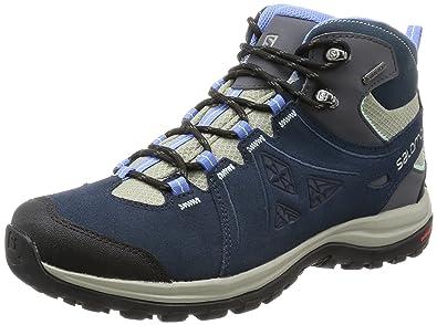 9dcc7fc5 Salomon Women's Ellipse 2 Mid LTR GTX W Hiking Boot, Titanium/Deep ...