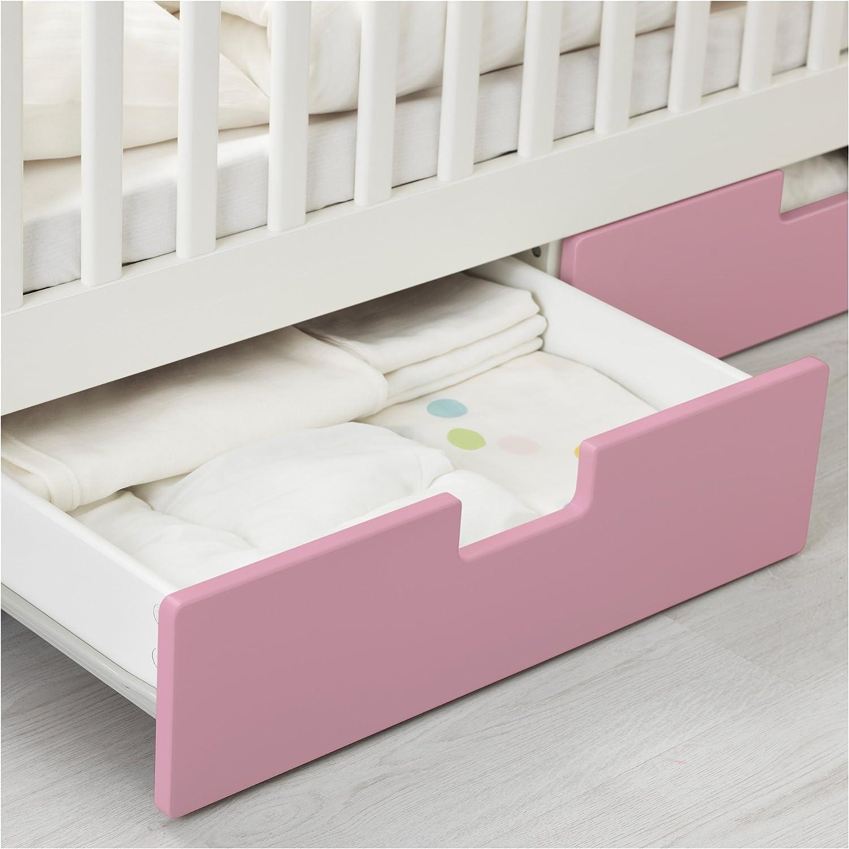 IKEA STUVA - Cuna con cajones Rosa: Amazon.es: Hogar
