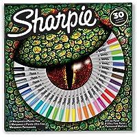 Sharpie 2061127 Sharpie Asetat Kalem Seti, Özel Renk Çeşitleri, İnce ve Ultra İnce Uçlar, 30 Adet