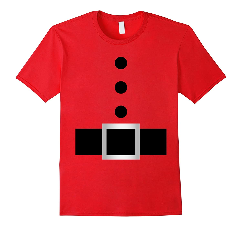 Santa Claus Suit Costume Shirt Christmas Stocking Stuffer