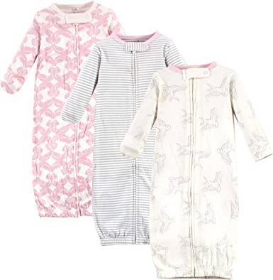 Elephant Touched By Nature Boy and Girl Organic Cotton Gown