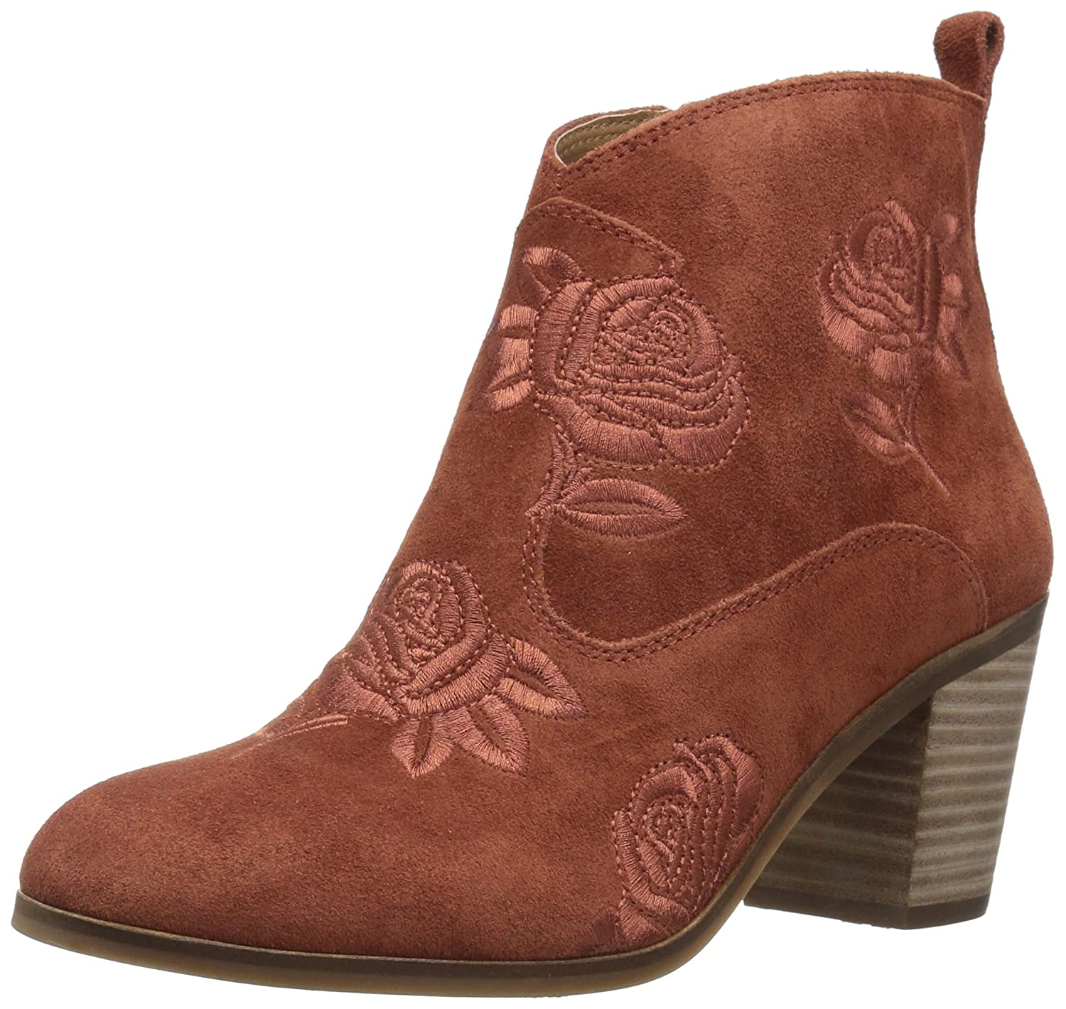 Lucky Brand Women's Pexton Ankle Boot B07FN2WTFQ 12 B(M) US|Red Oak