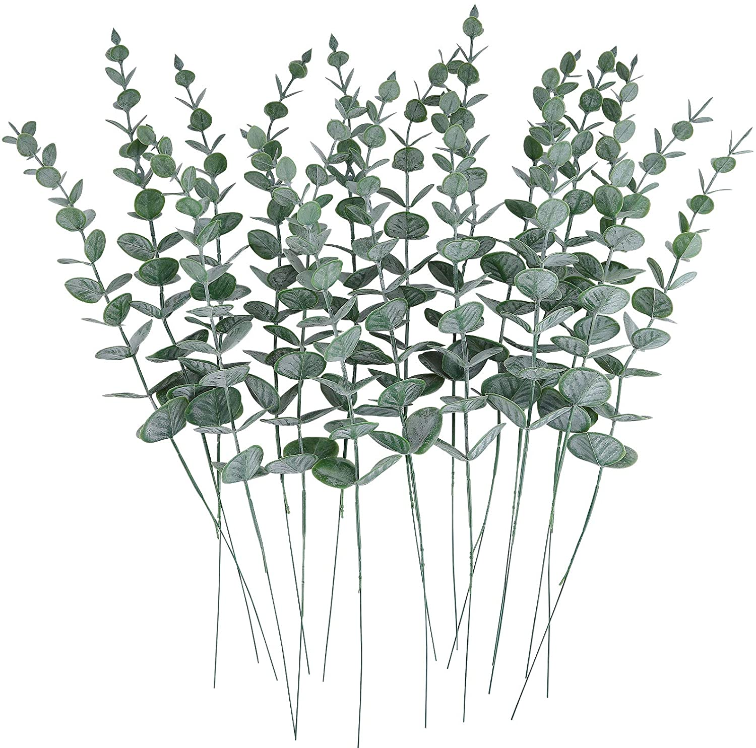 Artificial Plants Green Leaf Branch Eucalyptus Artificial Greenery Leaves for wedding decoration home decorative accessories