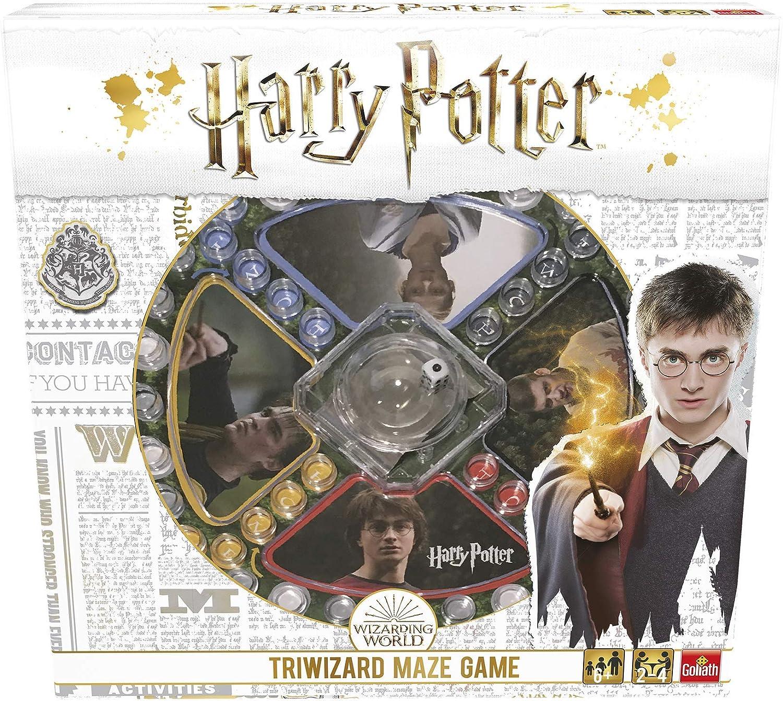 Pressman- Harry Potter Los Tres Magos Juego de Mesa, Multicolor (Goliath Games 108672): Amazon.es: Juguetes y juegos