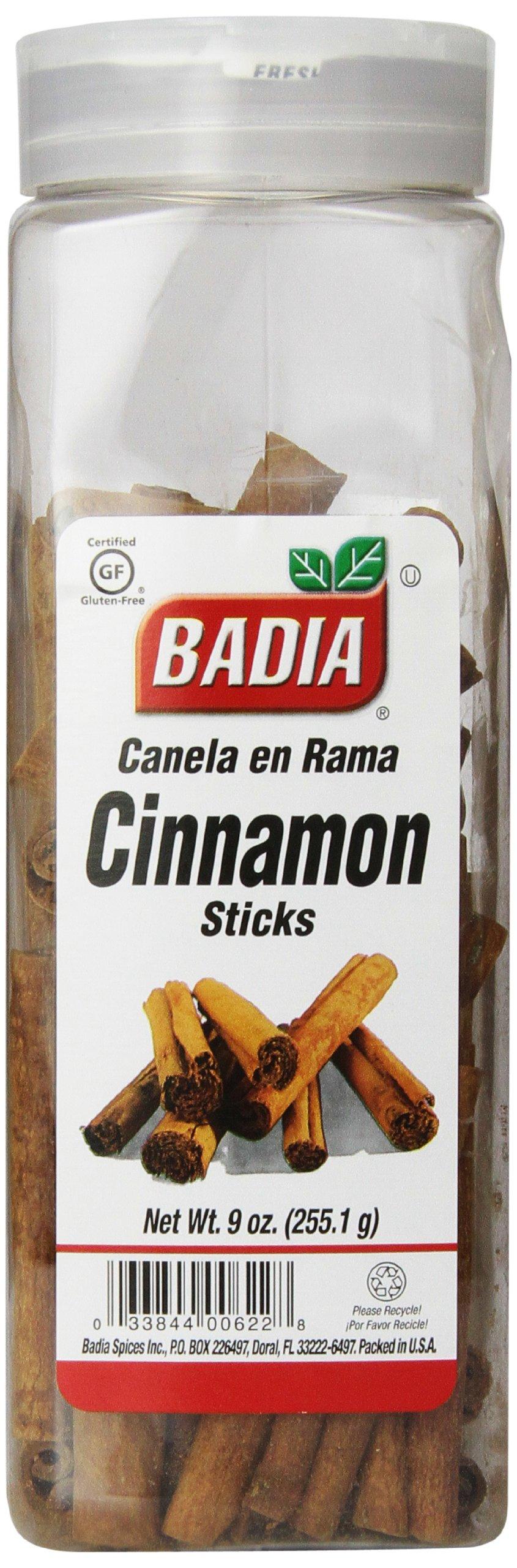 Badia Cinnamon Sticks, 9-Ounce  (Pack of 6)