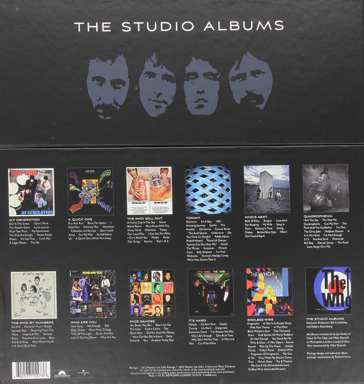 Who - The Studio Albums [14 LP][Box Set] - Amazon.com Music