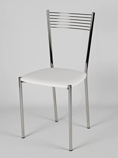 Set 4 sedie per cucina e sala da pranzo moderne, con robusta ...