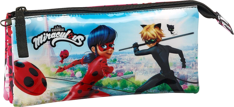 Ladybug- Portatodo Triple (SAFTA 811716744): Amazon.es: Juguetes y juegos