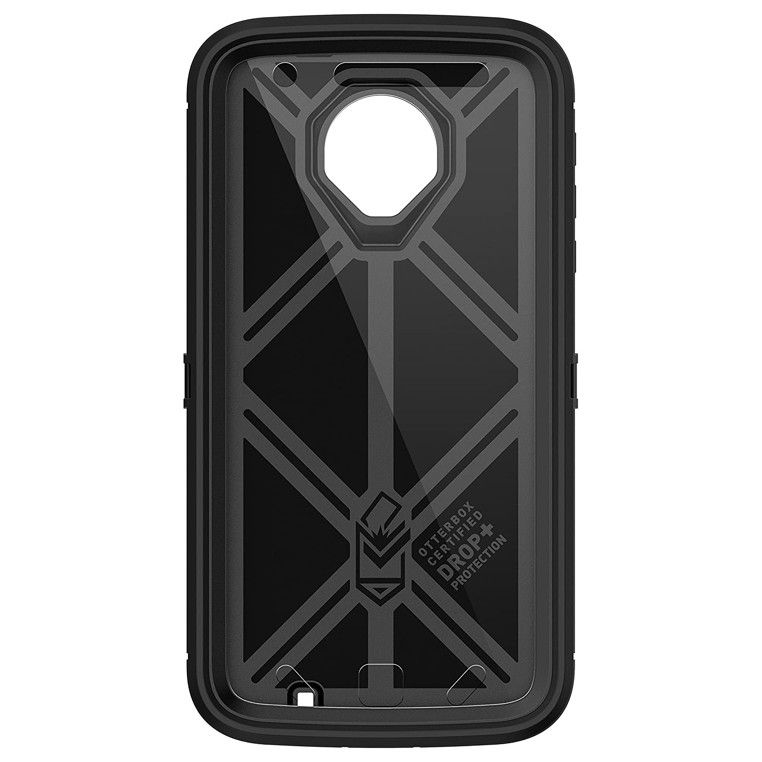 hot sale online 70ca0 04782 OtterBox Defender Series Case for Motorola Moto Z Force Droid Edition -  Frustration Free Packaging - Black