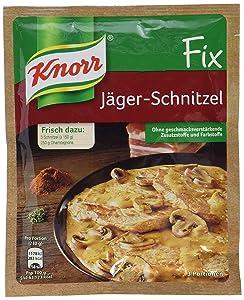 Knorr Fix hunter schnitzel (Jäger-Schnitzel) (Pack of 4)