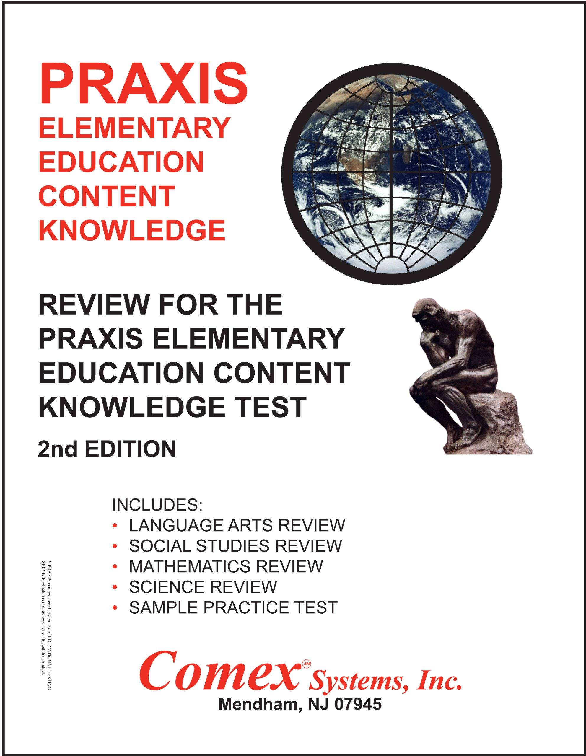 Review for the PRAXIS Elementary Education Content Knowledge Test: Comex  Staff: 9781560302599: Amazon.com: Books