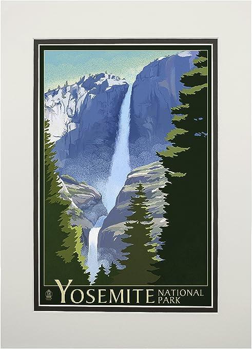 Art print POSTER Yosemite Falls