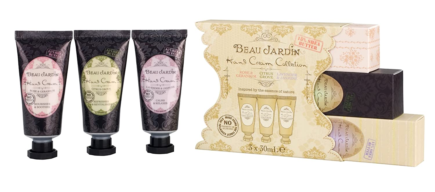Emejing beau jardin rose and geranium images for Beau jardin hand cream collection