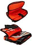 VanGoddy Red Trim Laptop Bag w/HDMI Cable, Mouse