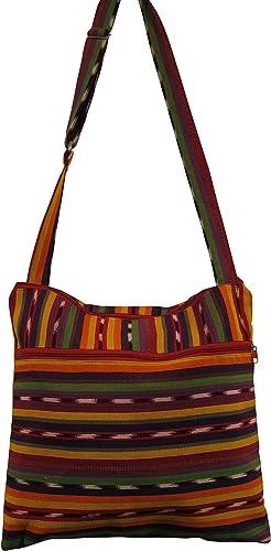 Amazon.com: Zen Canyon rayas Messenger bolsa Sling Bag ...