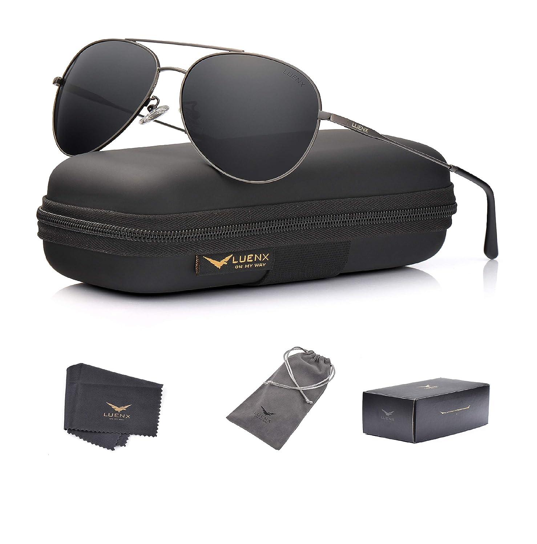 Amazon.com: LUENX - Gafas de sol polarizadas para hombre y ...