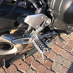 Kit completo montaggio sostituzione penade anteriori pilota maggiorate touring gommate Yamaha originali Tracer MT viaggio turismo