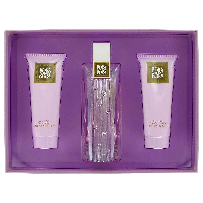 Amazon.com: Bora Bora for Women Gift Set - 3.4 oz EDP Spray + 3.4 ...
