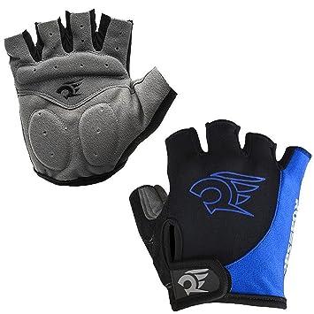 hoaey Verano guantes de ciclismo guantes de bicicleta de montaña de carretera guantes de ciclismo luz